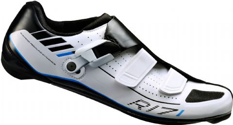 Shimano R171 SPD SL Road Shoes White